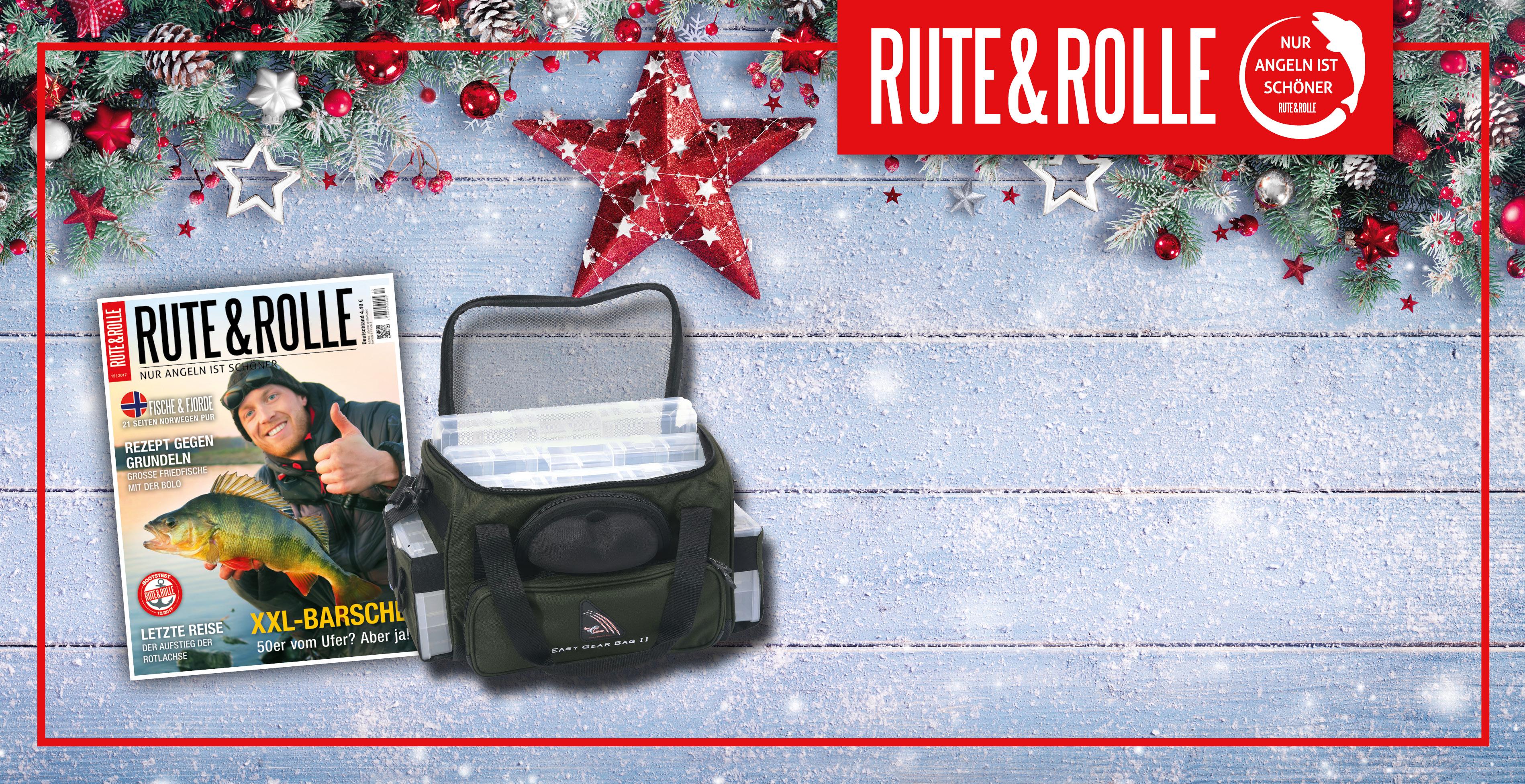 Schenke zu Weihnachten Rute & Rolle - Rute & Rolle
