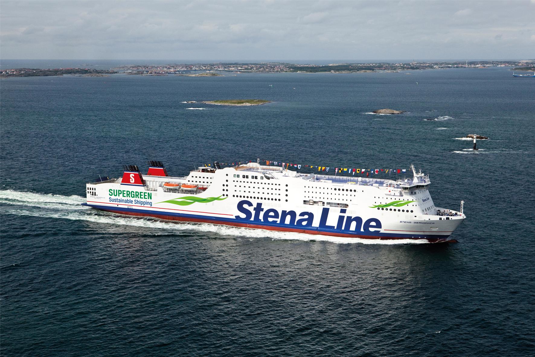 Mit der Stena Line von Kiel nach Göteborg zum Eisangeln